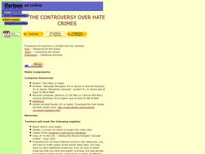The Controversy Over Hate Crimes Lesson Plan