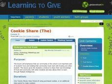 The Cookie Share Lesson Plan