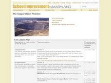 The Copper Basin Problem Lesson Plan