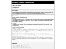The Cost of Art Lesson Plan