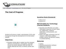 The Cost of Progress Lesson Plan