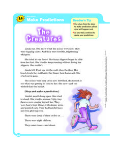 The Creatures Worksheet
