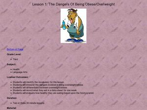 The Dangers of Being Obese/Overweight Lesson Plan
