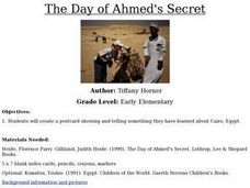 The Day of Ahmed's Secret Lesson Plan