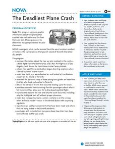 The Deadliest Plane Crash Lesson Plan