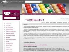 The Difference Bar 1 Lesson Plan