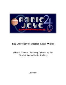 The Discovery of Jupiter Radio Waves Lesson Plan