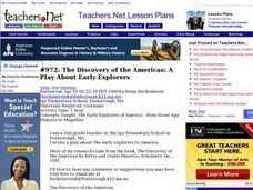 The Discovery of the Americas: A Play About Early Explorers Lesson Plan