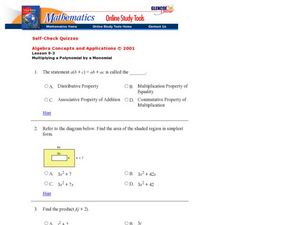 The Distributive Property Worksheet