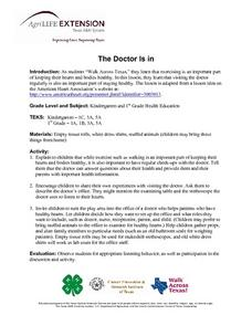 The Doctor is In. Lesson Plan