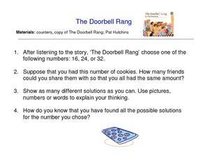 the doorbell rang 1st 3rd grade worksheet lesson planet. Black Bedroom Furniture Sets. Home Design Ideas