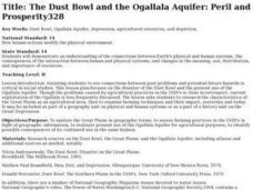 The Dust Bowl and the Ogallala Aquifer Lesson Plan