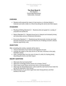 The Dust Bowl (I) Lesson Plan