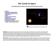 The Earth in Space Lesson Plan