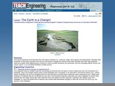 The Earth is a Changin' Lesson Plan