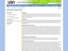 The Earth Is My Home Lesson Plan