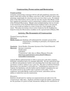 The Economics of Construction Lesson Plan