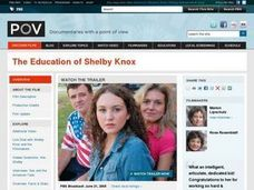 The Education of Shelby Knox Lesson Plan: The History of Teaching About Sex Lesson Plan