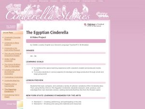 The Egyptian Cinderella Lesson Plan