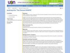 The Element of Shape Lesson Plan