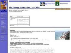 The Energy Debate - Sea Level Rise Lesson Plan