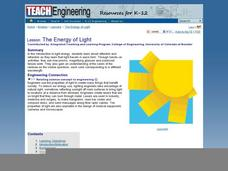 The Energy of Light Lesson Plan
