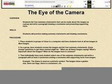 The Eye of the Camera Lesson Plan