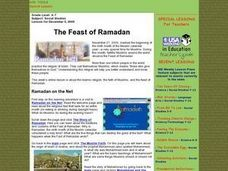 The Feast of Ramadan Lesson Plan
