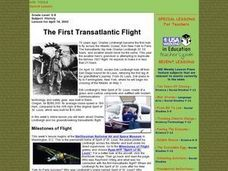 The First Transatlantic Flight Lesson Plan
