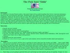 "The Fish Said ""Shhh"" Lesson Plan"