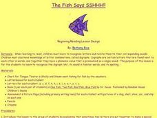 The Fish Says SSHHH!! Lesson Plan