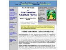 The Five-Transition Adventure Planner Lesson Plan