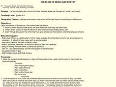 THE FLOW OF MUSIC AND POETRY Lesson Plan