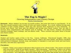 The Fog is Magic Lesson Plan