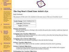 The Fog Won't Cloud Your Artist's Eye Lesson Plan