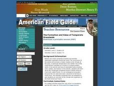 The Formation and Value of Temperate Grasslands Lesson Plan