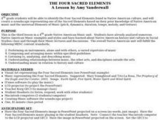 The Four Sacred Elements Lesson Plan