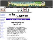 The Frontiers Decade:  CyberDecade Lesson Plan