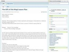The Gift of the Magi Lesson Plan