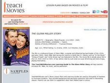 The Glenn Miller Story (Film) - Teacher's Guide Lesson Plan