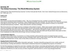 The Global Economy: The World Monetary System Lesson Plan