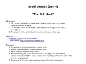 The Gold Rush Lesson Plan