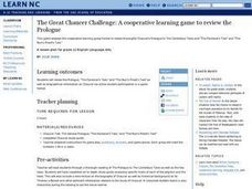 the Great Chaucer Challenge: a Cooperative Learning Game To Review the Prologue Lesson Plan