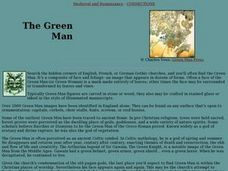 The Green Man Lesson Plan