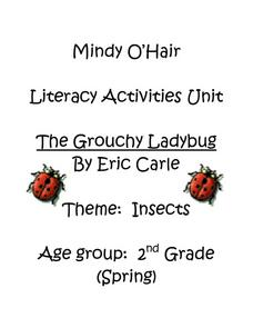 The Grouchy Ladybug By Eric Carle Lesson Plan