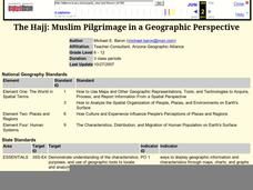 The Hajj: Muslim Pilgrimage in a Geographic Perspective Lesson Plan