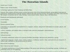 The Hawaiian Islands Lesson Plan