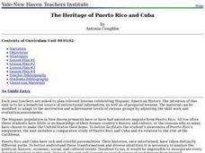 The Heritage of Puerto Rico and Cuba Lesson Plan