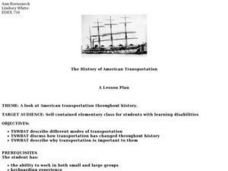 The History of American Transportation Lesson Plan