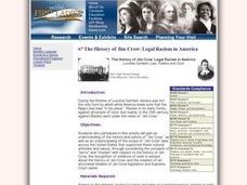 The History of Jim Crow: Legal Racism in America Lesson Plan